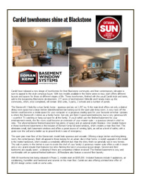 Cardel Homes Article PDF