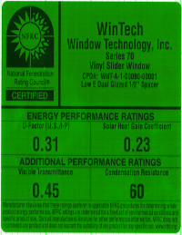 Low-E Dual Window Sticker PDF