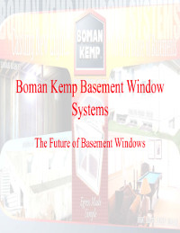 Boman kemp window well systems for Window brand comparison